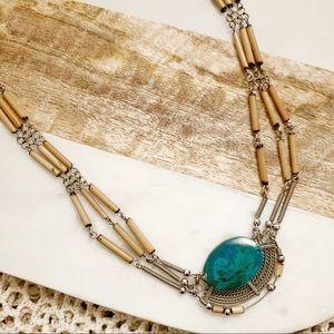 Vintage Stone Necklace